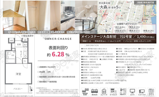 东京都大田区大森公寓89万人民币