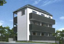 东京丰岛区北池袋新建公寓整栋826万人民币(已售)
