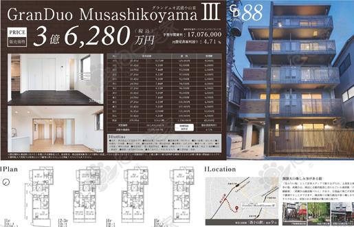 首付1124万人民币贷款购买东京都品川区公寓整栋