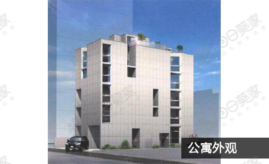 日本东京都港区白金高轮公寓整栋