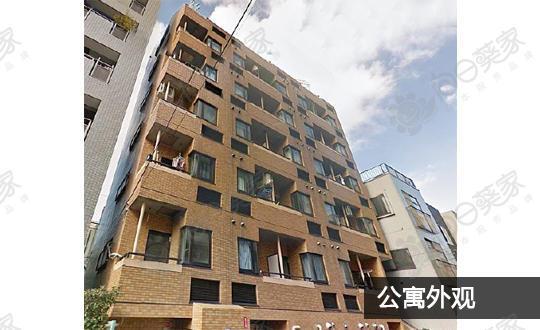 日本东京都台东区上野1居室公寓