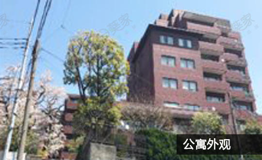日本东京都丰岛区目白公寓