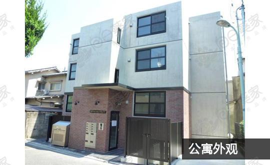 日本东京都目黑区中目黑公寓整栋