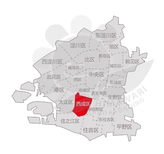 大阪西成区