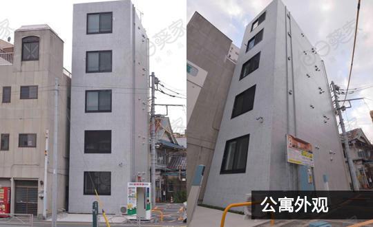 日本东京都台东区三轮公寓整栋