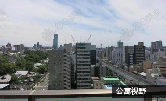 日本大阪市中央区日本桥公寓