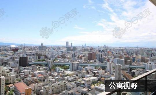 日本大阪市福岛区福岛公寓
