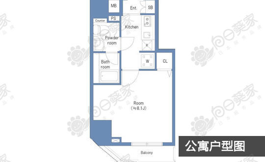 日本东京都新宿区新大久保公寓