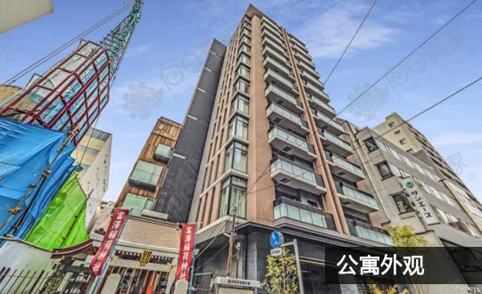 日本东京都中央区日本桥公寓