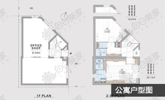 日本东京都丰岛区巢鸭公寓整栋