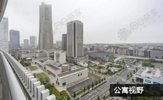 日本神奈川县横滨市西区未来港公寓