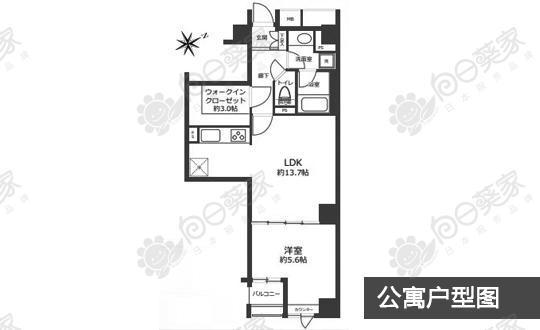 日本东京都丰岛区池袋公寓