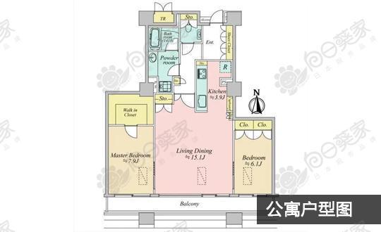 日本东京都中央区月岛公寓