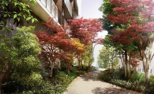 日本东京都涩谷区惠比寿高级塔楼公寓