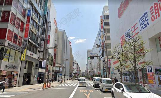 日本东京都新宿区新宿事务所整栋