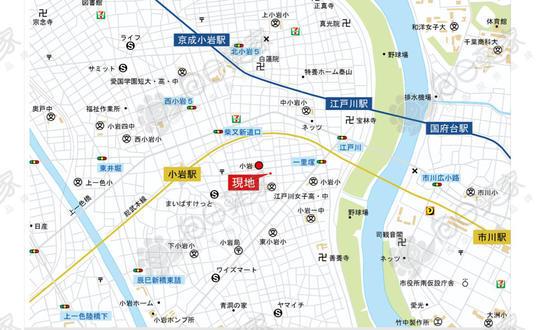 日本东京都江户川区东小岩公寓整栋
