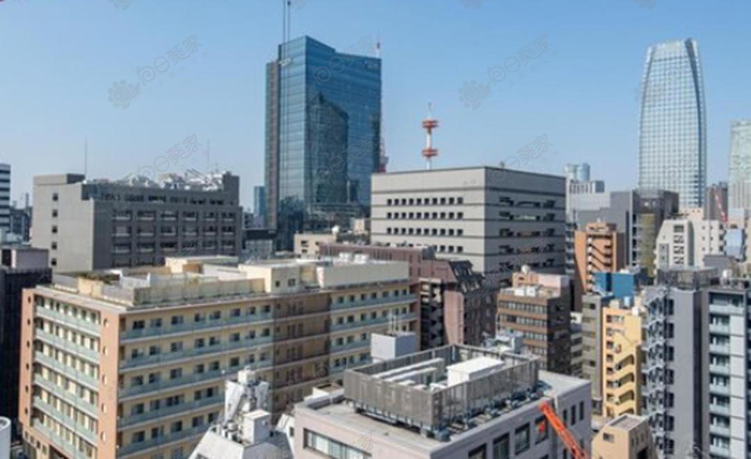 日本东京都港区新桥自住高级公寓