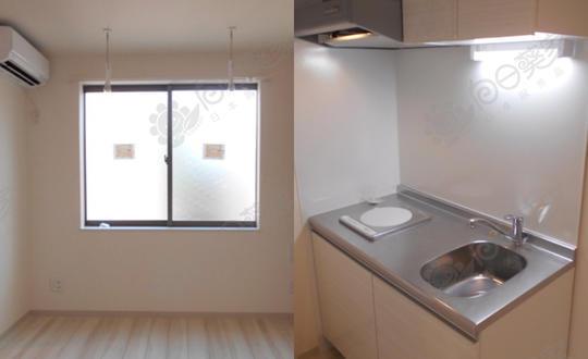 日本东京都中野区松丘满室出租小户型公寓整栋