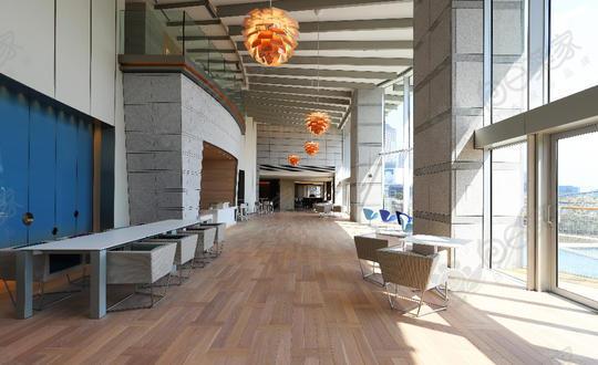 日本东京都中央区晴海高级塔楼3居室公寓