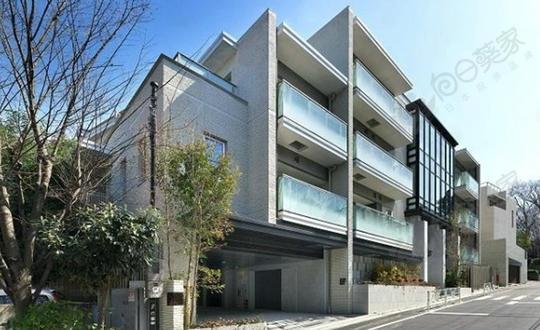 日本东京都涩谷区代官山私人庭院高级低层公寓