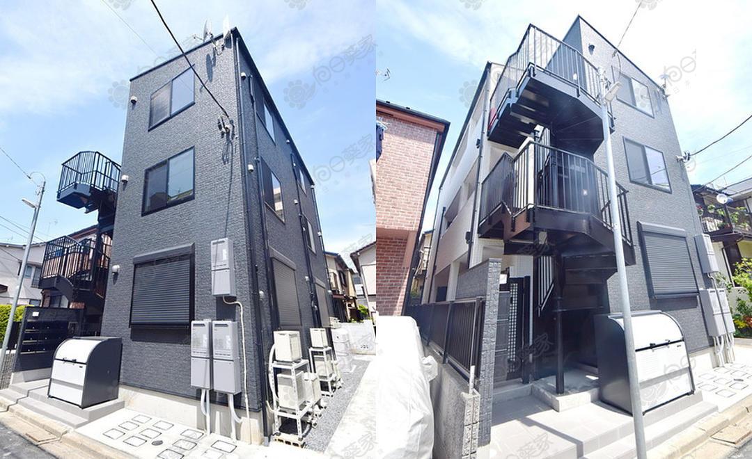 日本东京都江户川区小岩木造公寓整栋