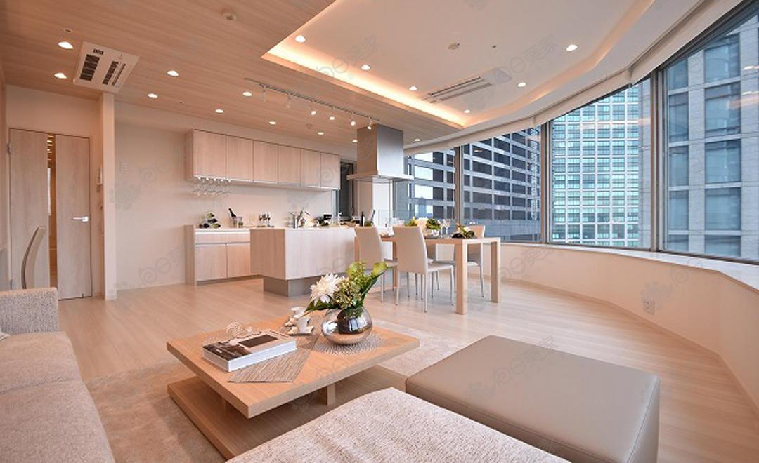 日本东京都港区滨松町自住2居室塔楼公寓