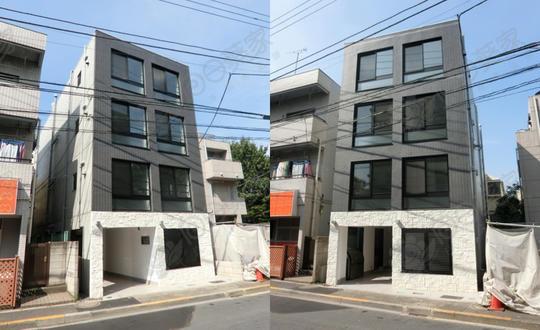 日本东京都中野区白鹭公寓整栋