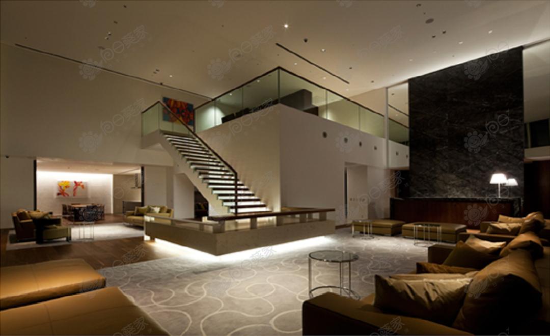日本东京都港区六本木高级塔楼2居室公寓