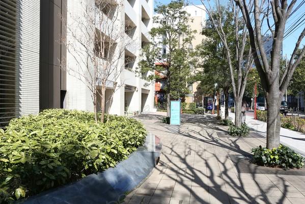 日本东京都港区白金高级公寓