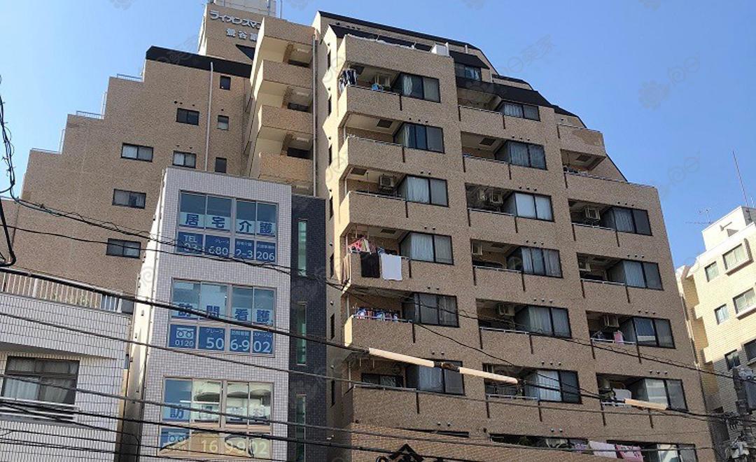 日本东京都台东区入谷1居室公寓
