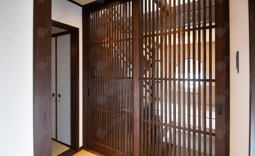 日本京都市中京区二条京町家