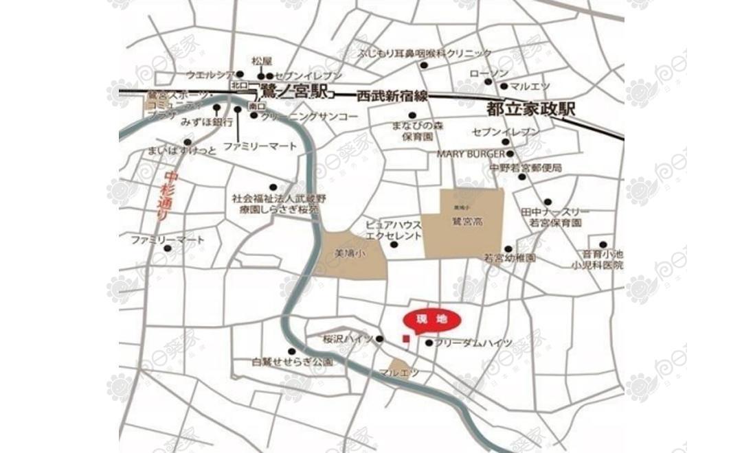日本东京都中野区小户型公寓整栋