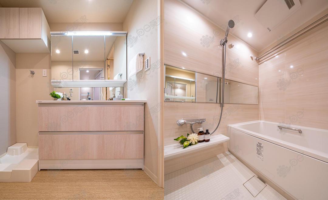 日本东京都港区浜松町高级塔楼3居室公寓