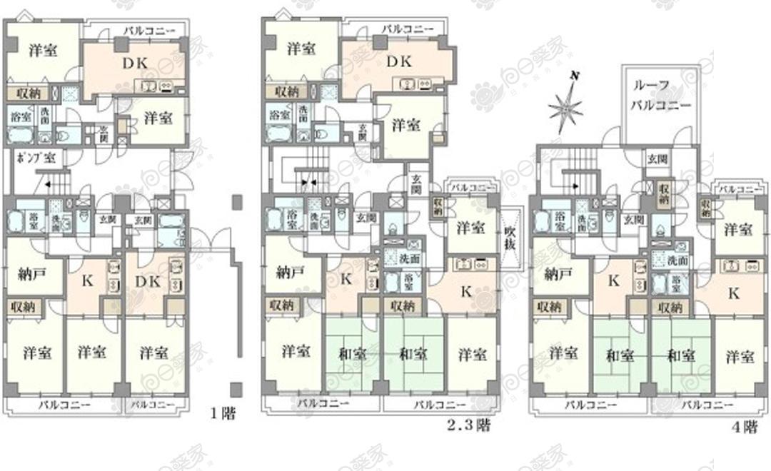 日本东京都丰岛区千川满室出租公寓整栋