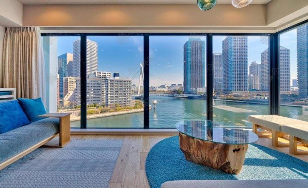 日本东京都中央区湊2居室高级公寓