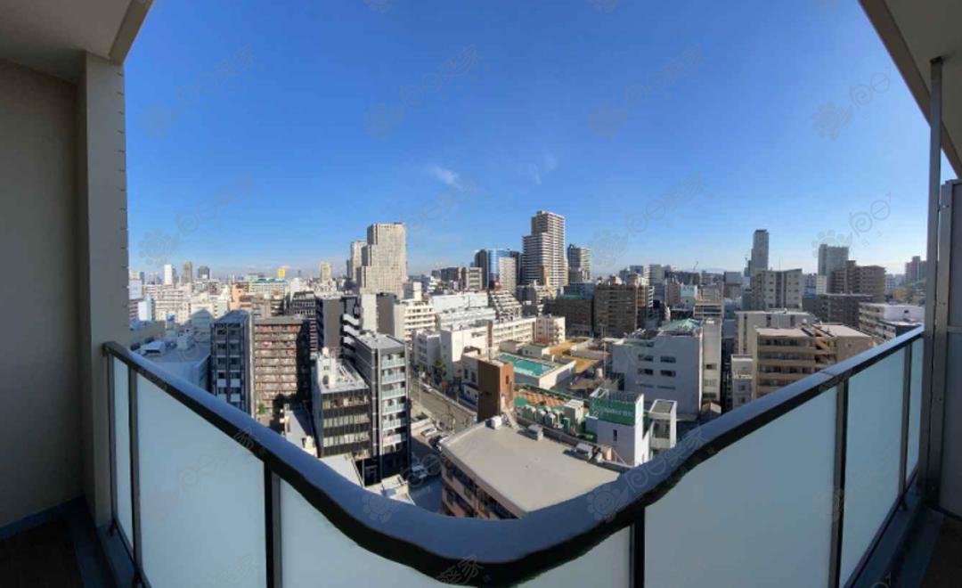 日本大阪市中央区上町台3居室塔楼公寓