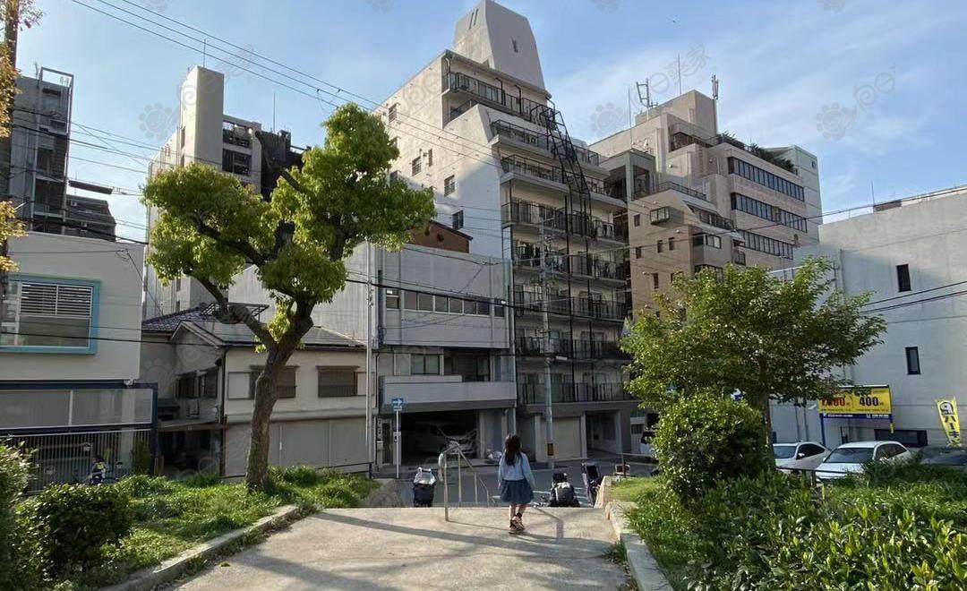 日本大阪市中央区松屋町2居室公寓