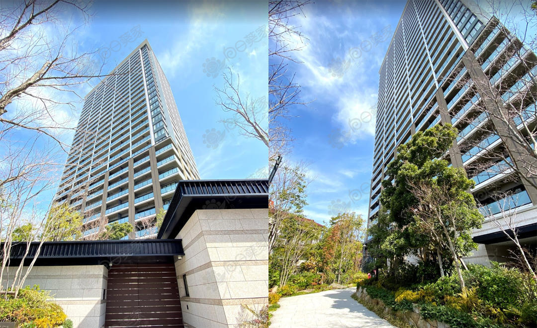 日本东京都港区白金学区2居室塔式公寓