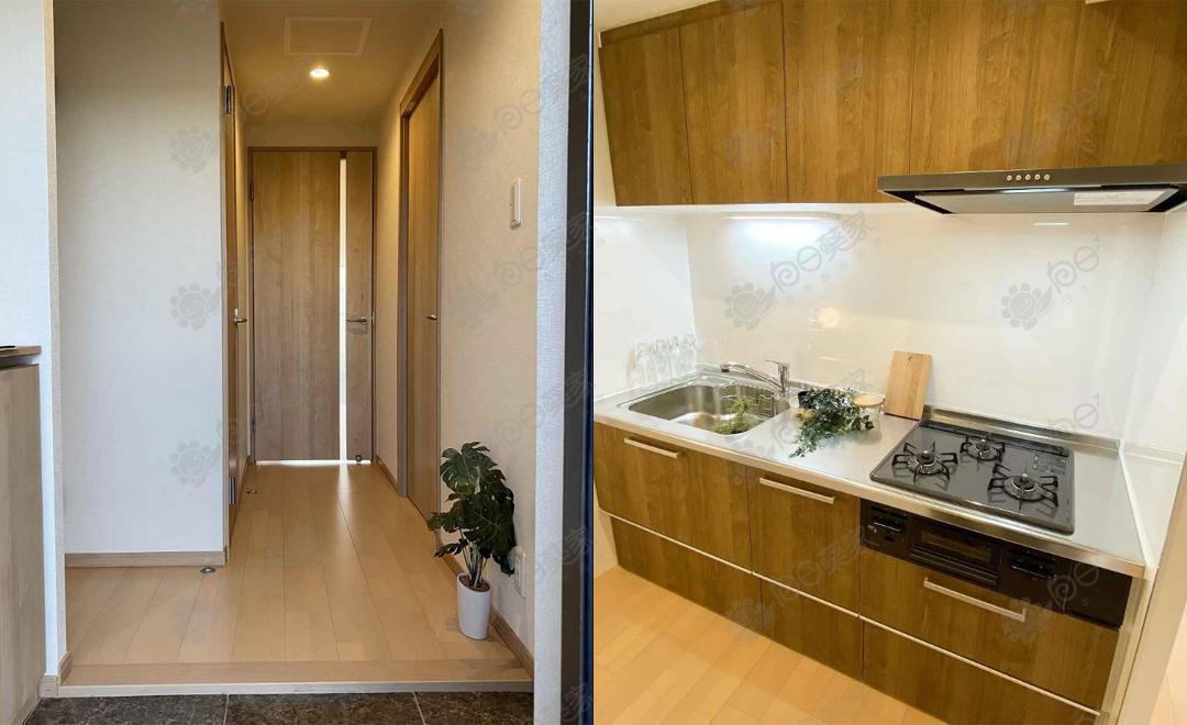 日本大阪市旭区高殿翻新3居室公寓