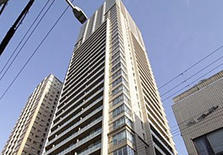 日本大阪市中央区内久宝寺1居室塔楼公寓