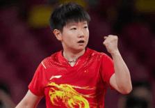 东京奥运会乒乓球女单半决赛,孙颖莎将伊藤美诚粉碎