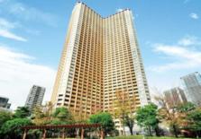 日本东京都港区芝浦2居室高级塔楼公寓