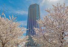 日本东京都新宿区富久町3居室高级塔楼公寓