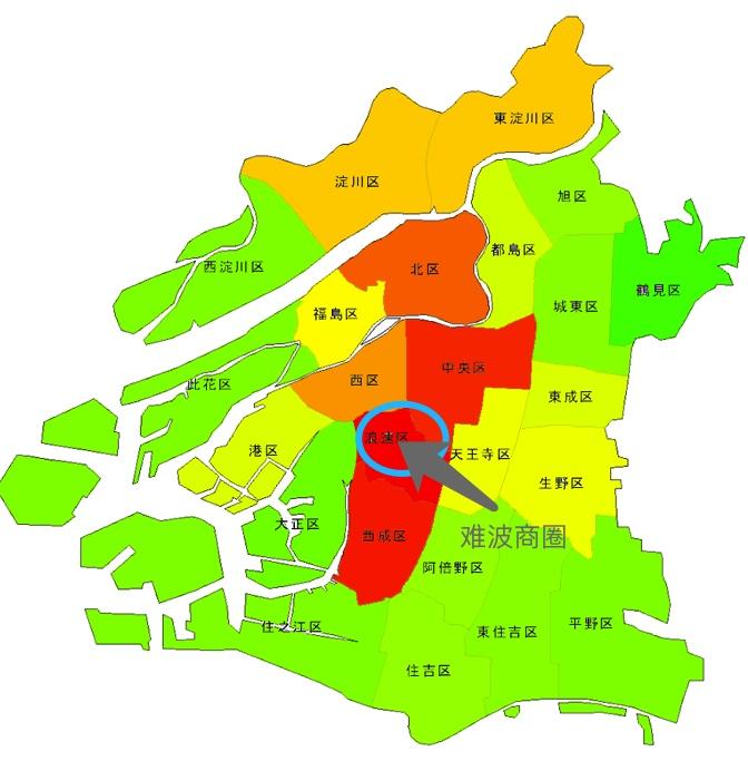 大阪区域买房,居住比较舒适的哪个地方适合?